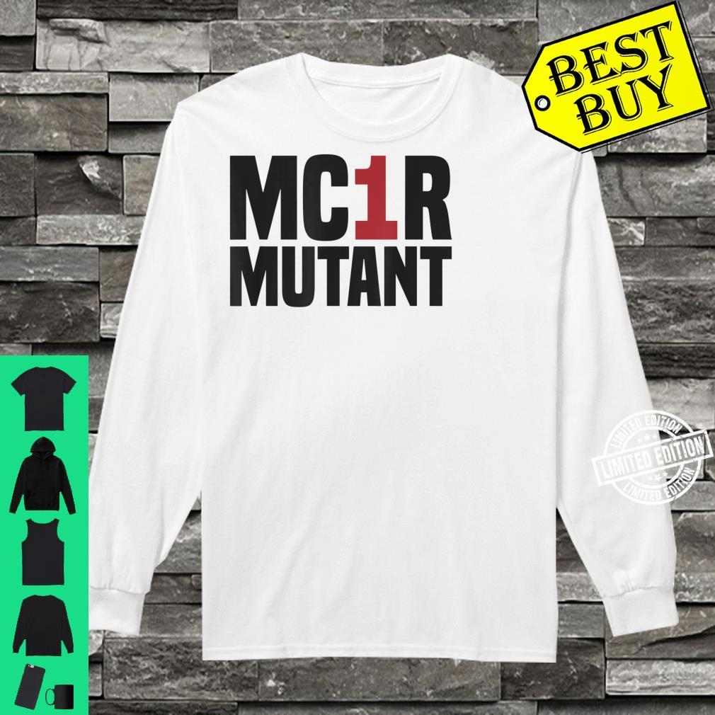 MC1R Mutant Ginger Red Hair Redhead Shirt long sleeved