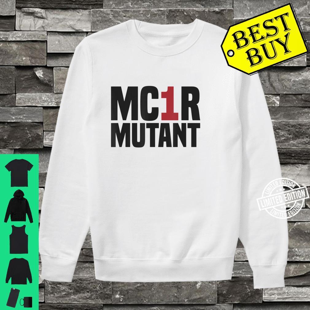 MC1R Mutant Ginger Red Hair Redhead Shirt sweater