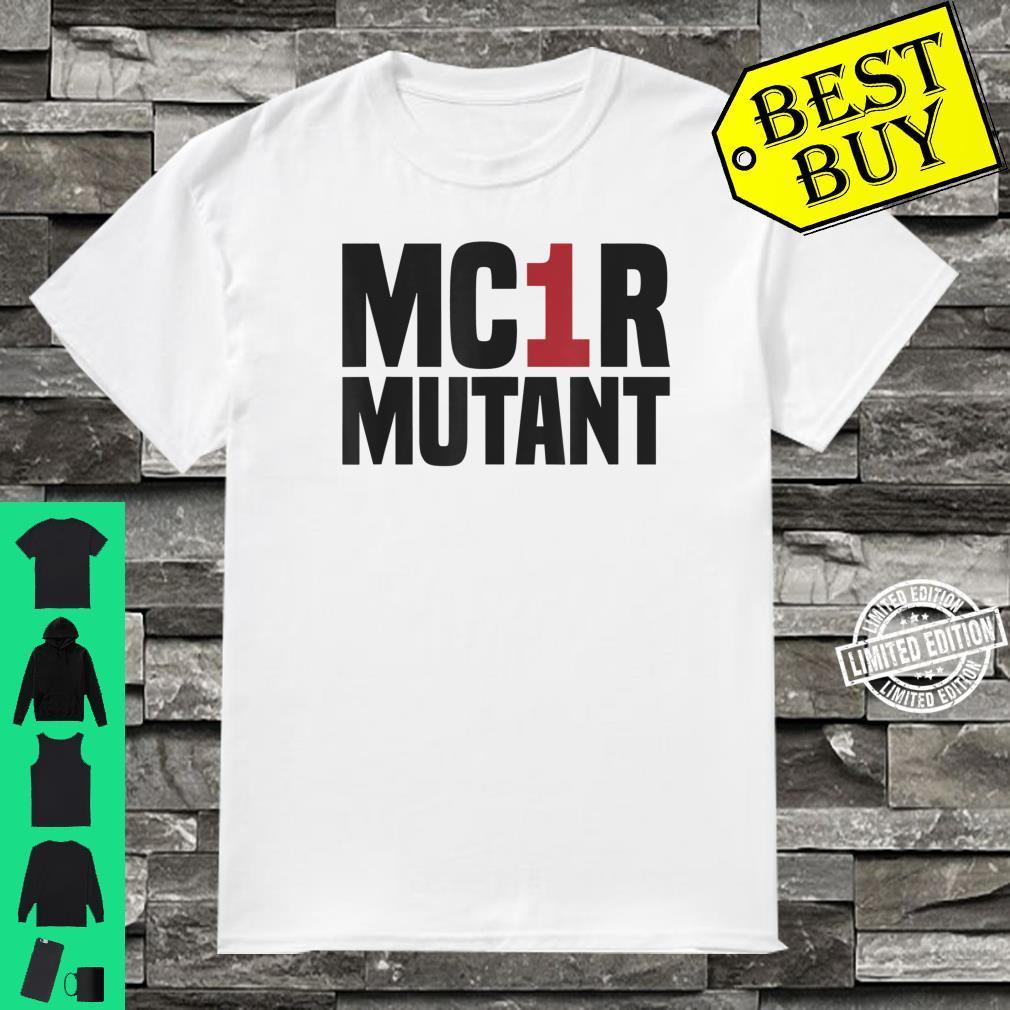 MC1R Mutant Ginger Red Hair Redhead Shirt