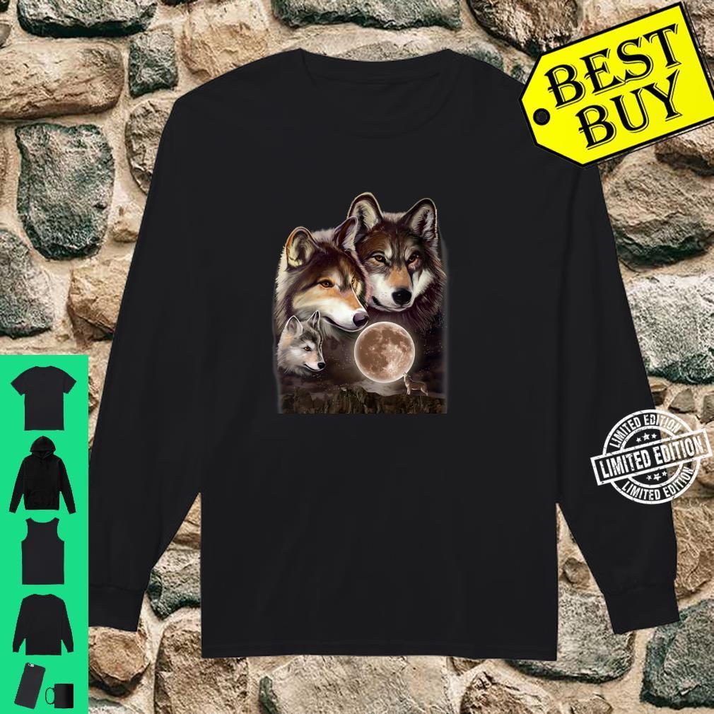 Womens Wolves Family Shirt long sleeved