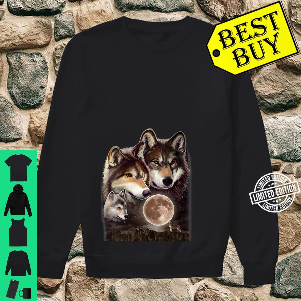 Womens Wolves Family Shirt sweater