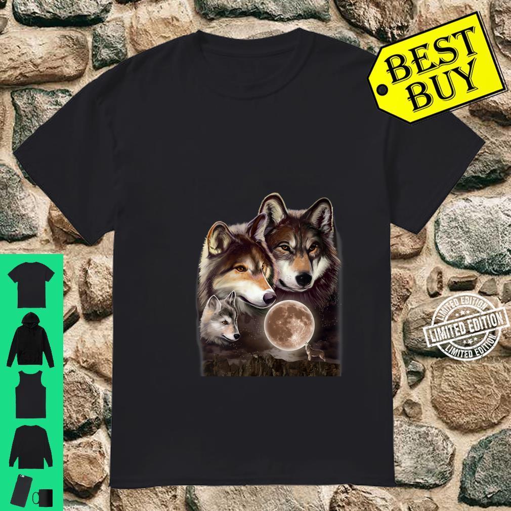 Womens Wolves Family Shirt