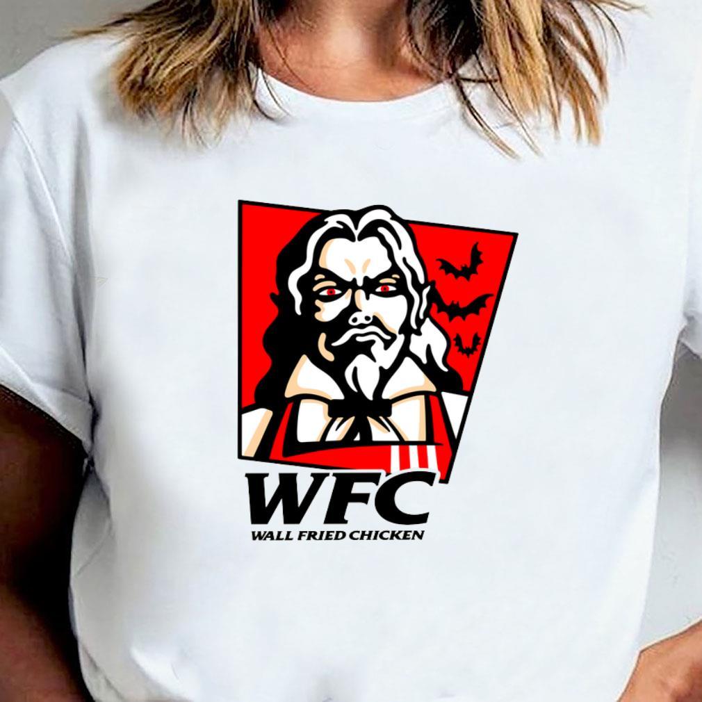 Wtc wall fried chicken shirt ladies tee
