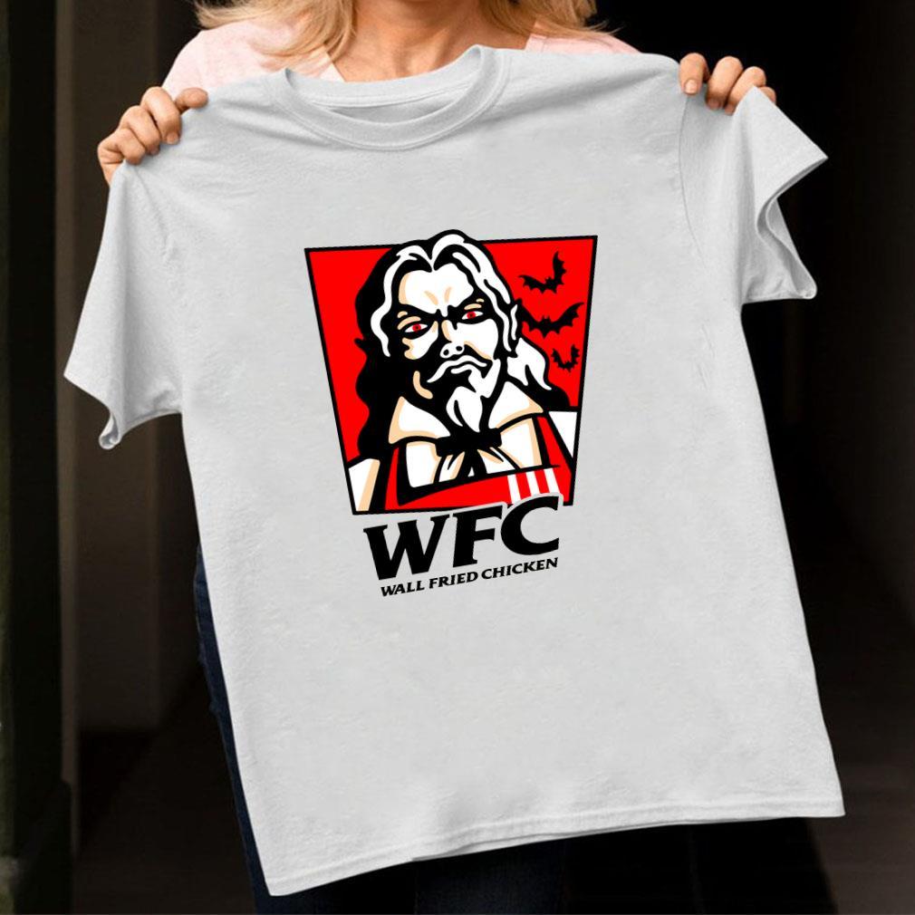 Wtc wall fried chicken shirt unisex