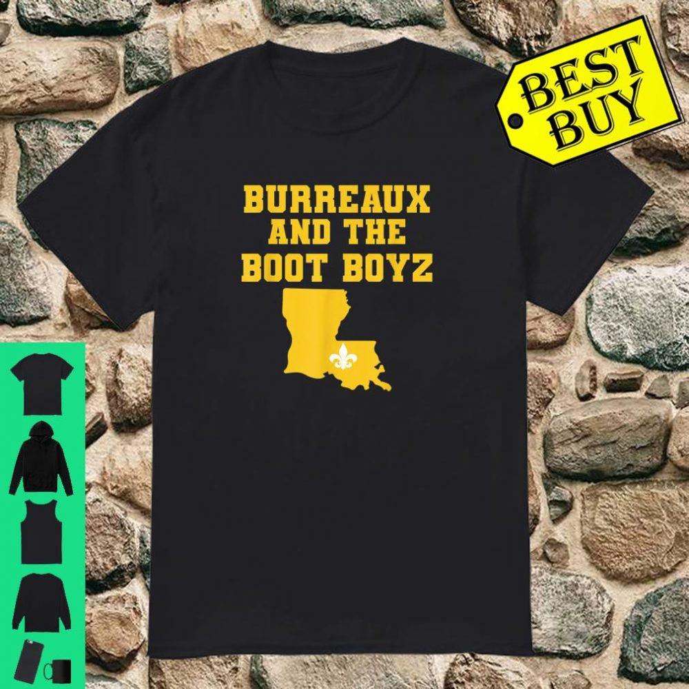 Burrow and the boot boys shirt