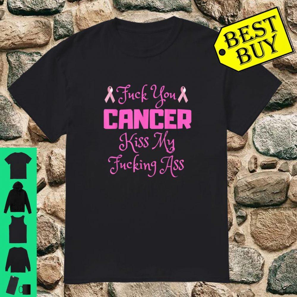 Fuck Cancer Breast Cancer Awareness shirt Shirt