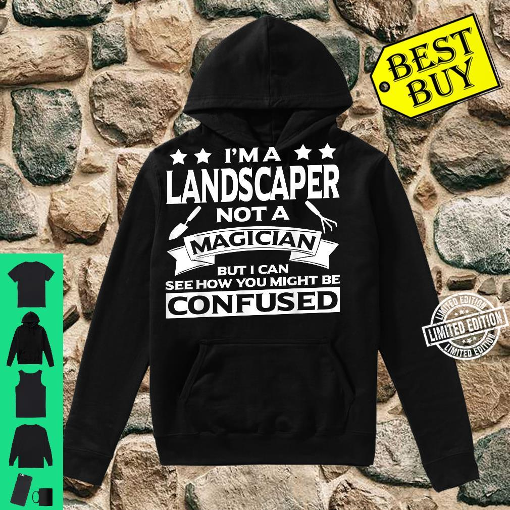 Funny Landscaper Apparel Awesome For Landscapers Shirt hoodie