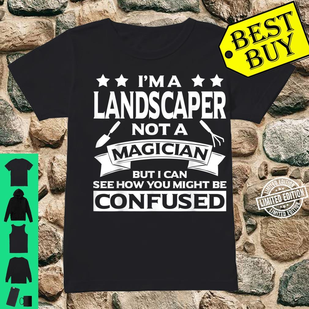 Funny Landscaper Apparel Awesome For Landscapers Shirt ladies tee