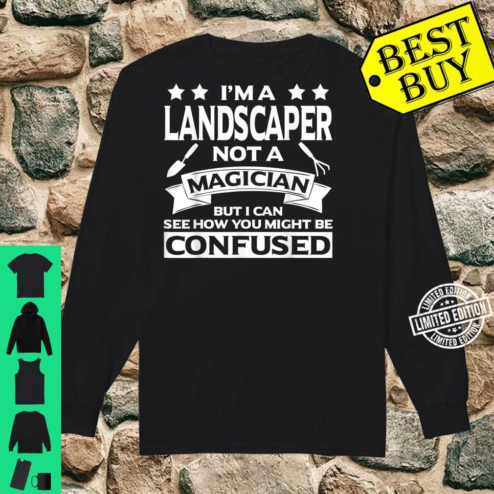 Funny Landscaper Apparel Awesome For Landscapers Shirt long sleeved