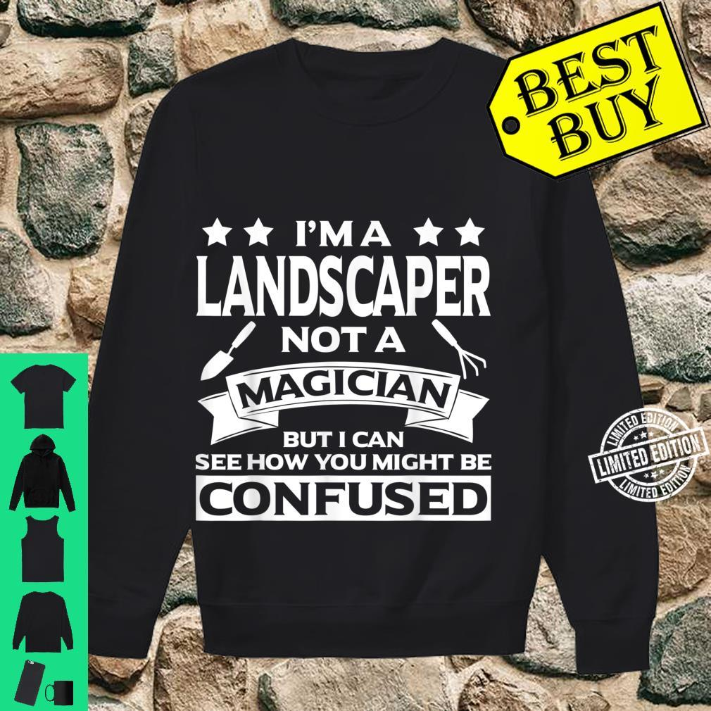 Funny Landscaper Apparel Awesome For Landscapers Shirt sweater