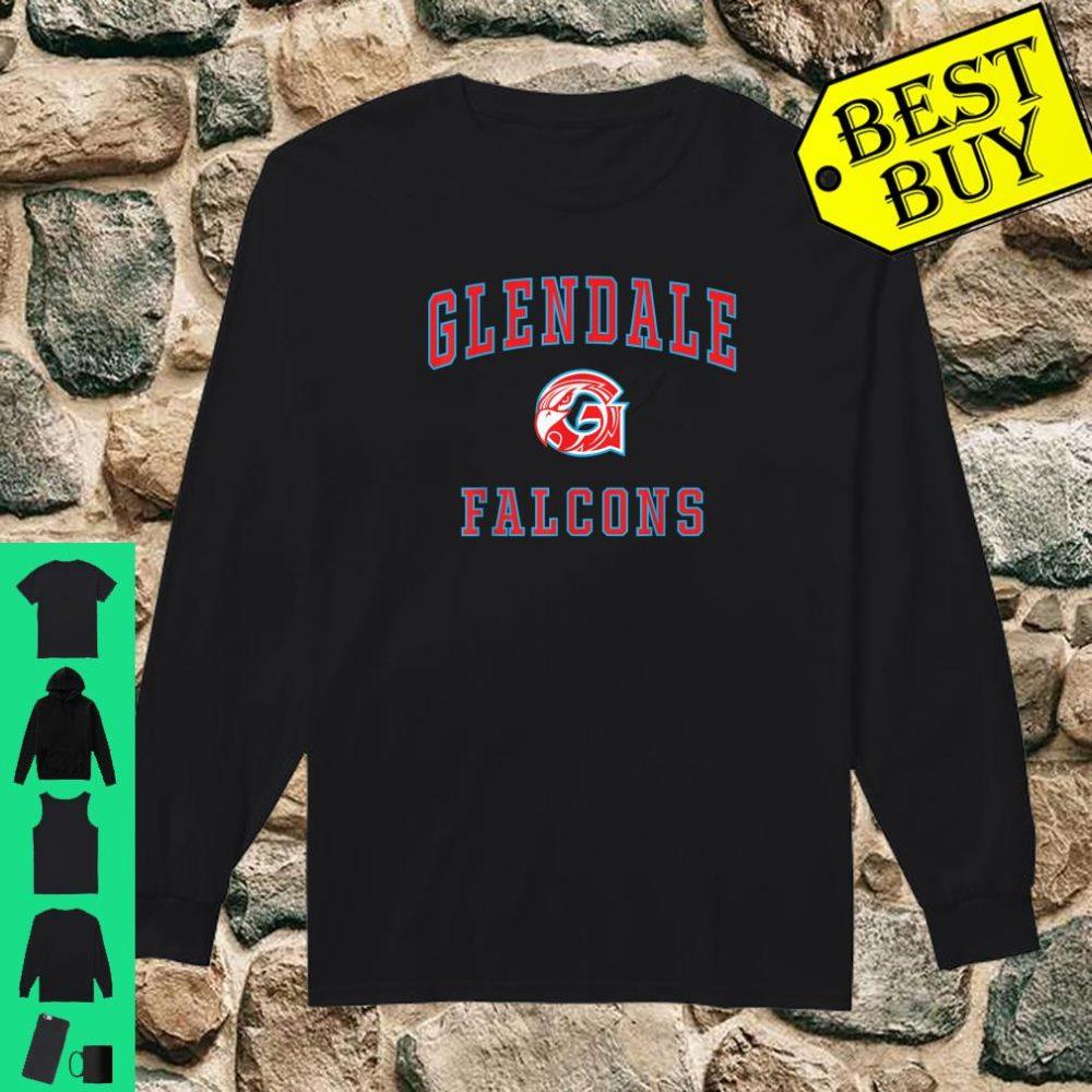 Glendale High School Falcons shirt long sleeved