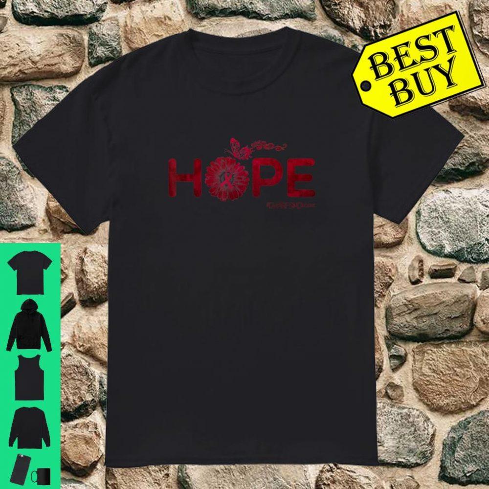 HOPE Butterfly Dwarfism Disease Shirt