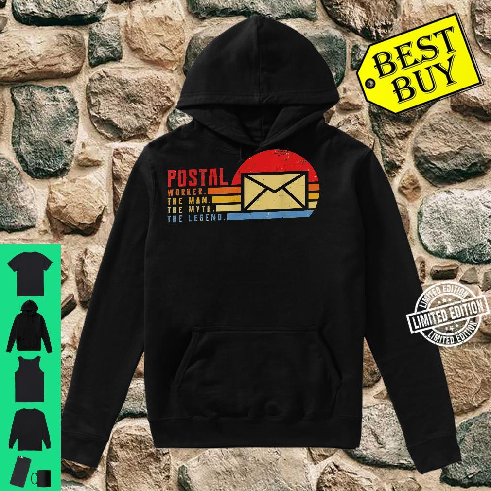 Mailman The Man The Myth The Legend Idea for Messenger Shirt hoodie