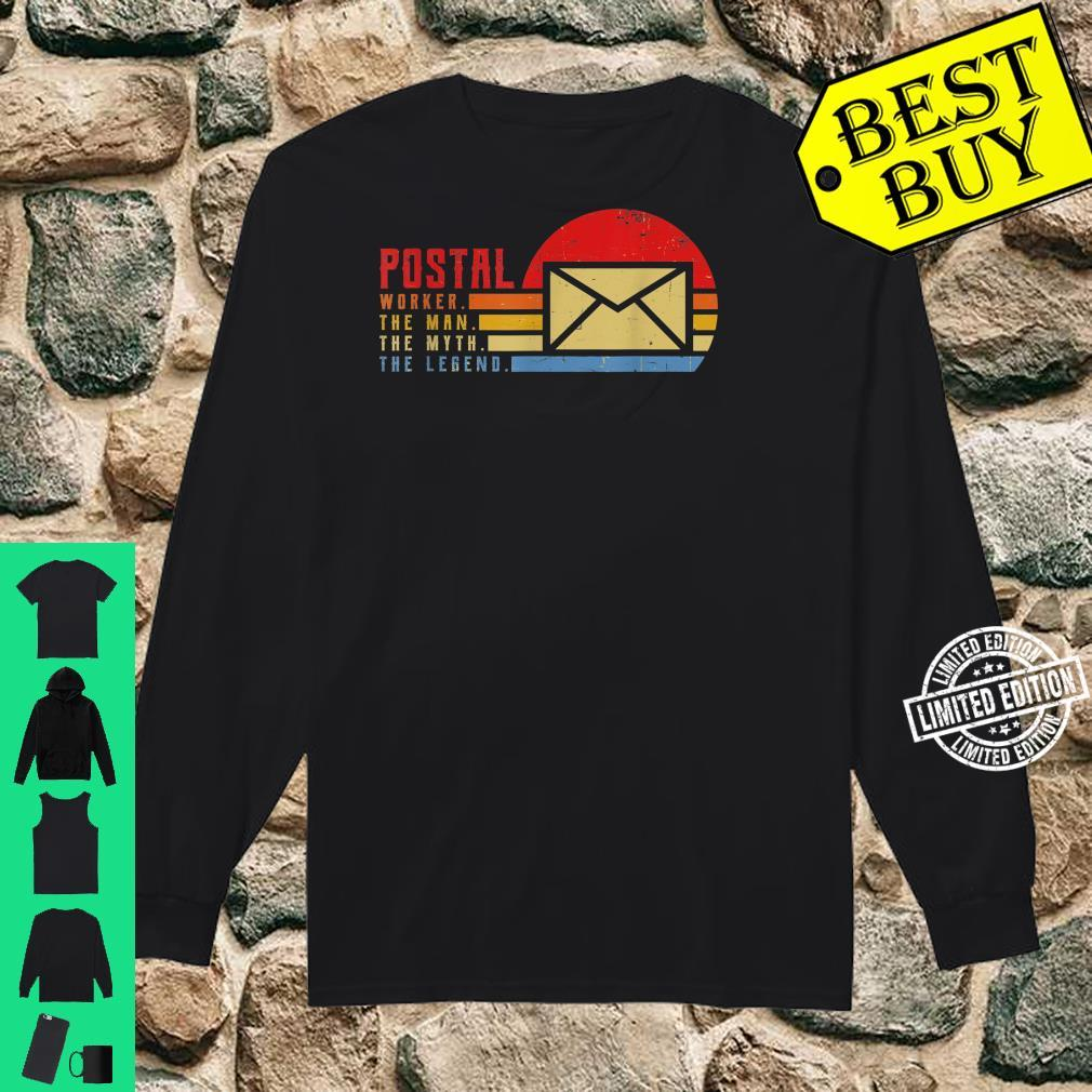 Mailman The Man The Myth The Legend Idea for Messenger Shirt long sleeved