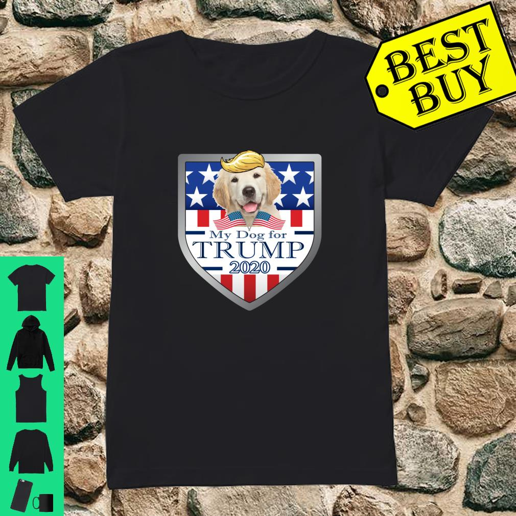 Official My Golden Retriever Puppy For Trump 2020 Shirt Hoodie