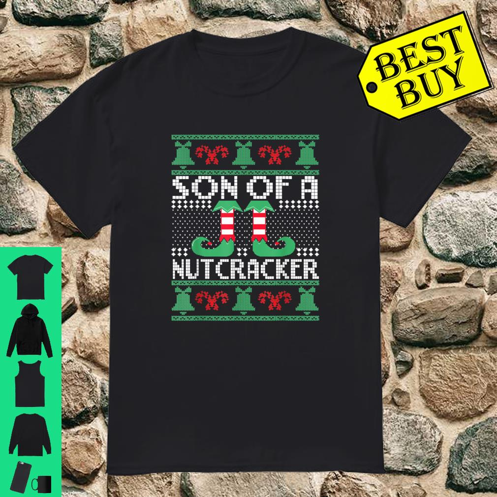 Son Of A Nutcracker Ugly Christmas Sweater Matching Family shirt