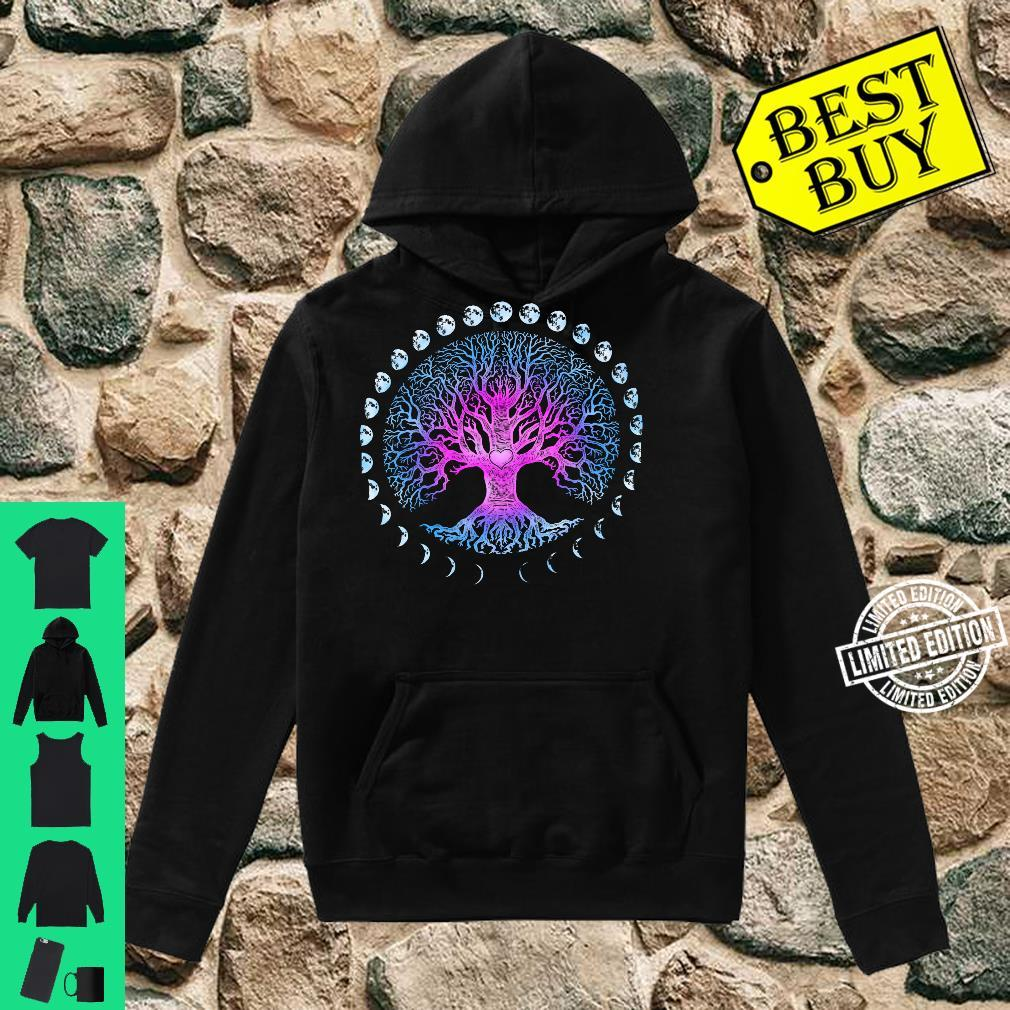 Tree of Life Phases of the Moon Shirt hoodie