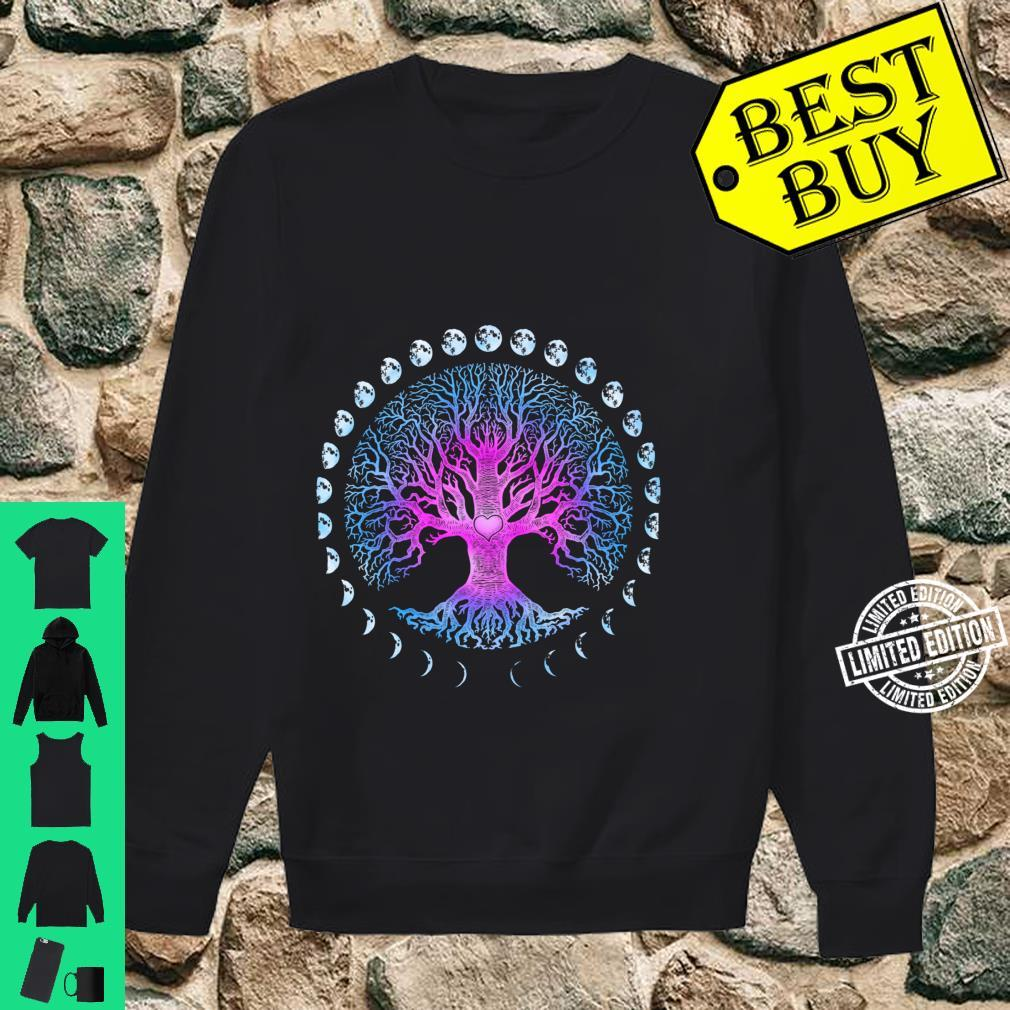 Tree of Life Phases of the Moon Shirt sweater