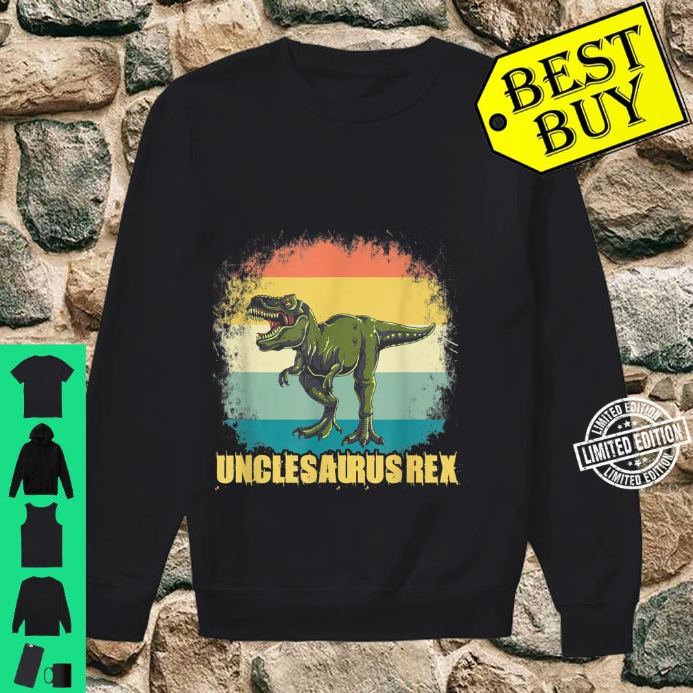 Unclesaurus T Rex Uncle Saurus Dinosaur Boys Shirt sweater