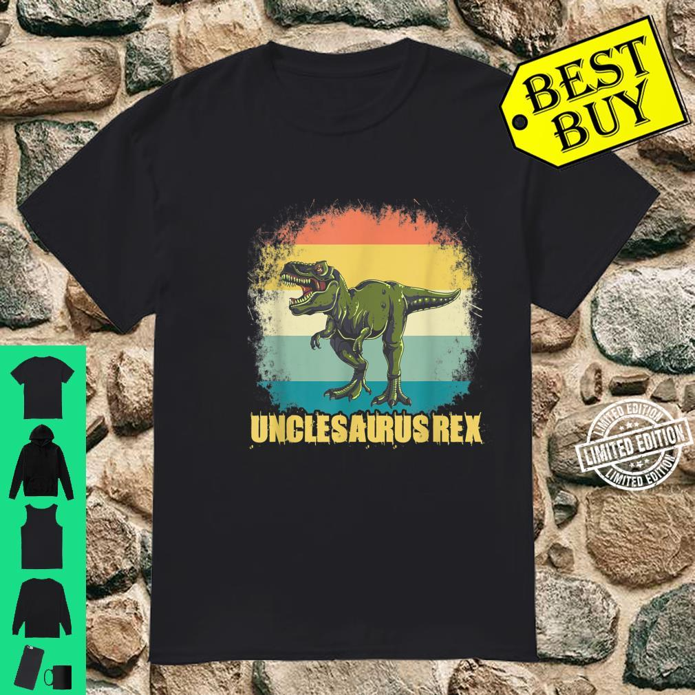 Unclesaurus T Rex Uncle Saurus Dinosaur Boys Shirt