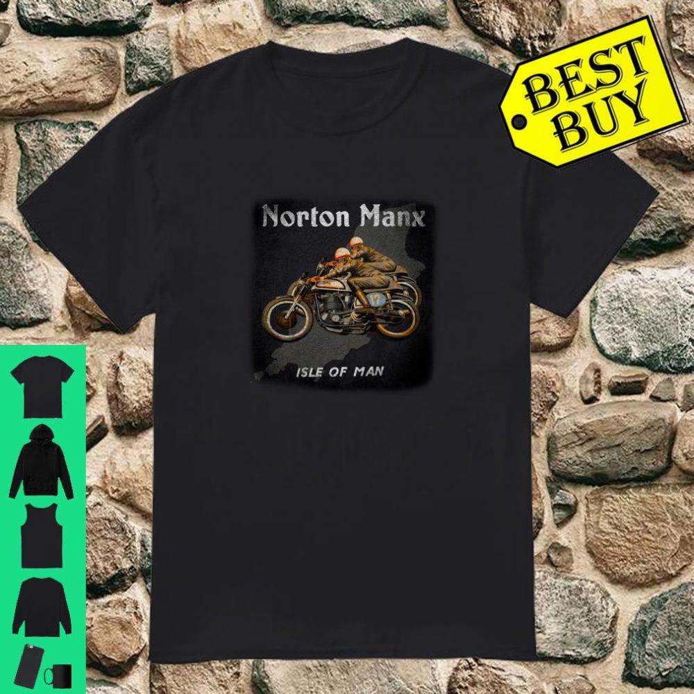 Vintage Norton Manx Cafe Racers Motorcycle shirt