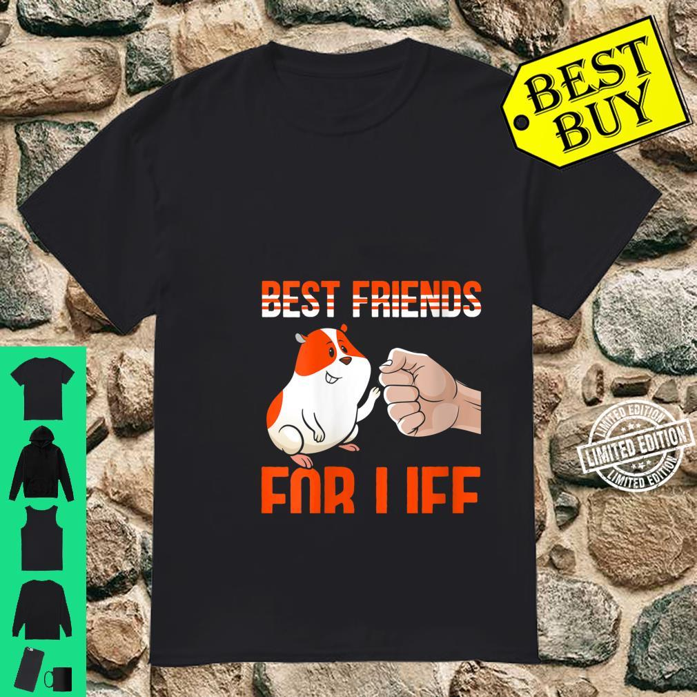 Womens Best Friends For Life Fist Bump Rodent Small Pet Hamster Shirt